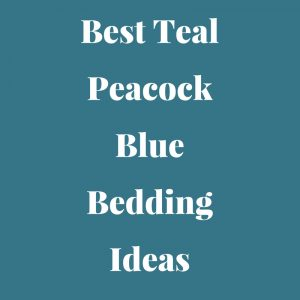 Teal Peacock Blue Bedding sets