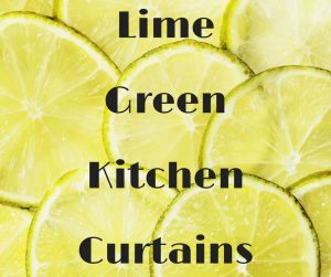 Lime Green Kitchen Curtains