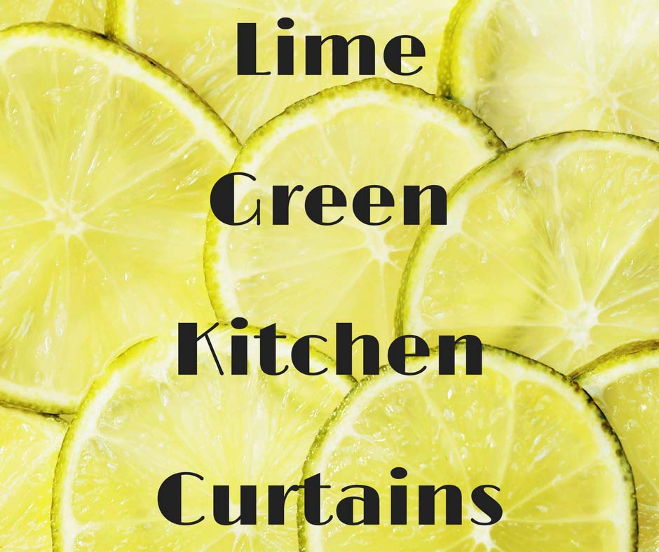 Lime Green Kitchen Curtains Best Curtain Ideas For Decor Pretty Chic Home