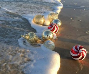 beach themed christmas tree ornaments - Beach Christmas Decorating Ideas