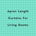 Apron length Curtains In Living Room & Bedroom Decor – Ideas For Apron Length Curtains Decor