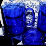 cobalt blue kitchen accessories