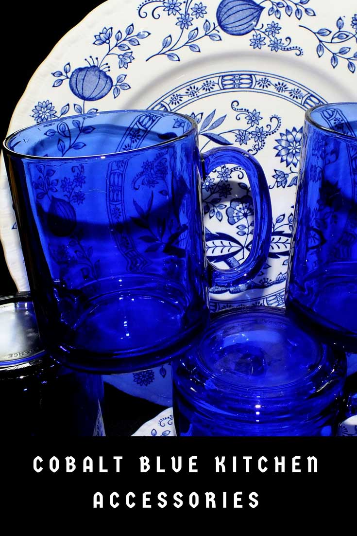 Cobalt Blue Kitchen Accessories Cobalt Blue Kitchen